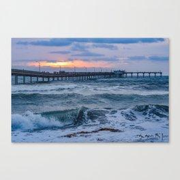 Ocean Beach Pier ~ May 2015 Canvas Print
