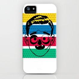 Creepy Gentleman iPhone Case
