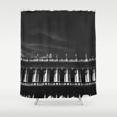 Above the edge Shower Curtain