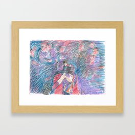 Chouchou 6 Framed Art Print