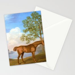 Pumpkin With A Stable-lad - George Stubbs Stationery Cards