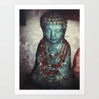 peace of art Art Print