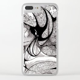 Inevitably her mind was not her own Clear iPhone Case