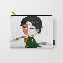 "Chibi Captain Levi (Rivaille) from ""Attack On Titan""/""Shingeki No Kyojin"" Carry-All Pouch"