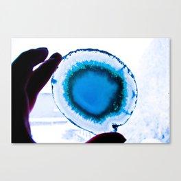 I am Blue Canvas Print