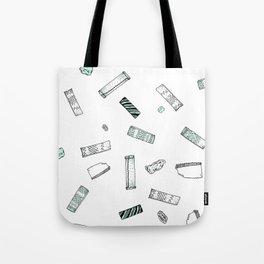 Gum Pattern Tote Bag