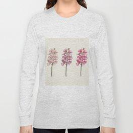 Three tones orchids Long Sleeve T-shirt