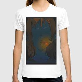 smoking sadness T-shirt