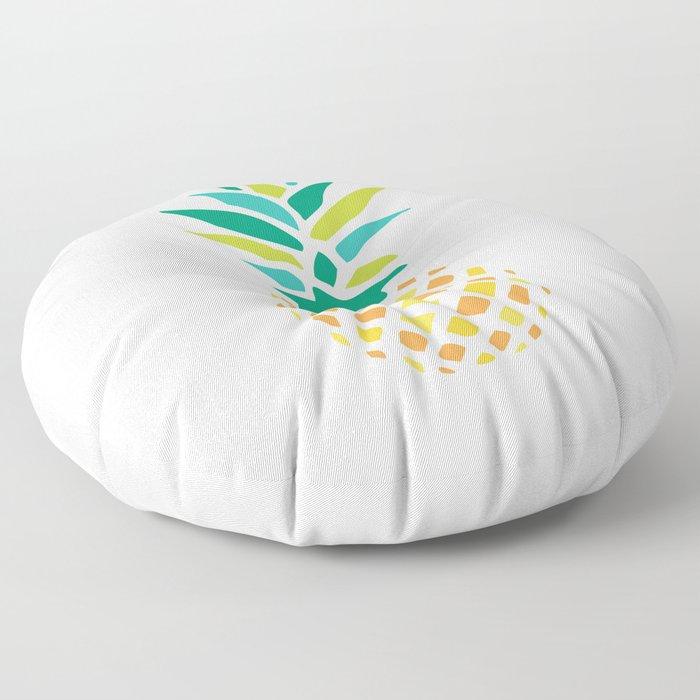 Summer Pineapple Floor Pillow