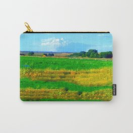 Nestled in the Valley:  Smoke on the Horizon Carry-All Pouch