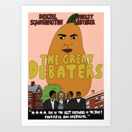 denzel squashington: the great debaters Art Print