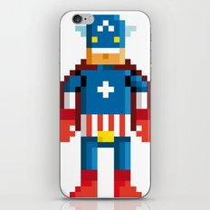 Pixelman America iPhone & iPod Skin