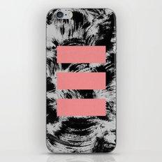 blocks #1 iPhone & iPod Skin