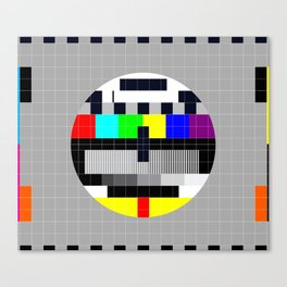 Test Pattern Canvas Print