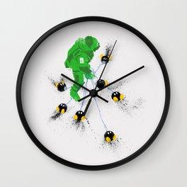 Luigi's Hurt Locker Wall Clock