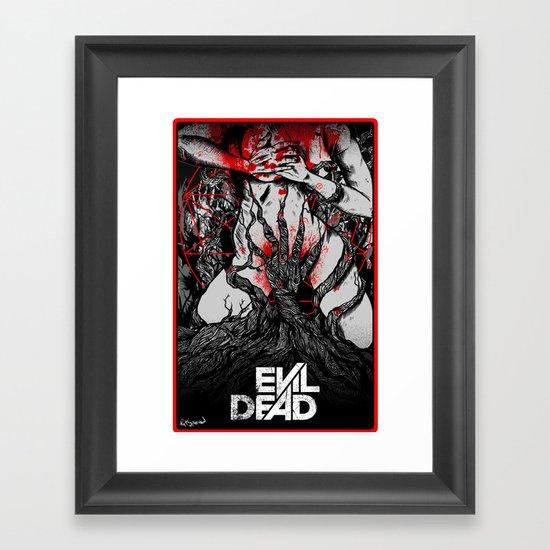 Evil Dead Framed Art Print