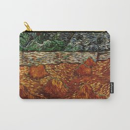 Van Gogh, night at the rising of the moon – Van Gogh,Vincent Van Gogh,impressionist,post-impressioni Carry-All Pouch