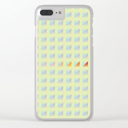 Pattern_A08 Clear iPhone Case
