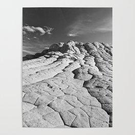 The Brain Rocks of White Pocket Poster