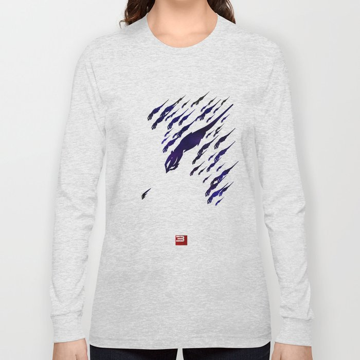 Mass Effect 3 (w/quote) Long Sleeve T-shirt