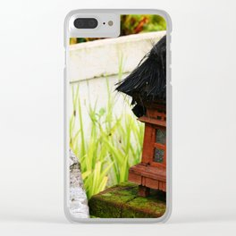 Bali - Hut Lamp Clear iPhone Case