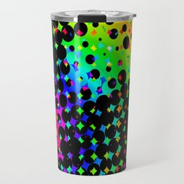 Colors in the Void Travel Mug