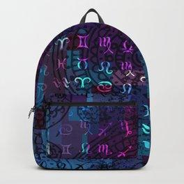 zodiac pattern Backpack