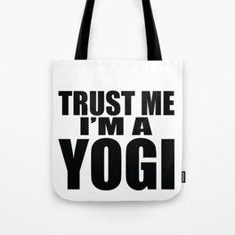 Trust Me I'm A Yogi Gift Tote Bag