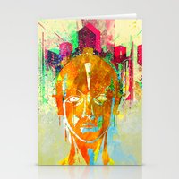 metropolis Stationery Cards featuring METROPOLIS by DIVIDUS