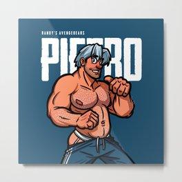 Randy's AvengeBears: Pietro the Bear Cub Metal Print