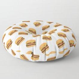 Burgers Floor Pillow