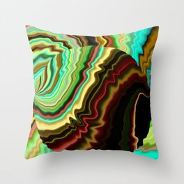Sound Resonance Throw Pillow