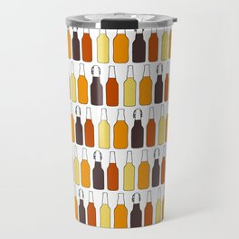 Vintage Beer Bottles Travel Mug