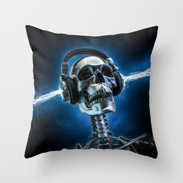 Soul music Throw Pillow