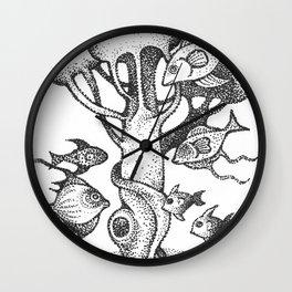 fish5 Wall Clock