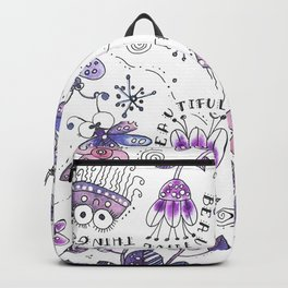I See Beautiful Things Around Me Backpack