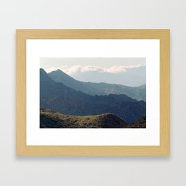Safe Passage From Palm Springs to Idyllwild Framed Art Print