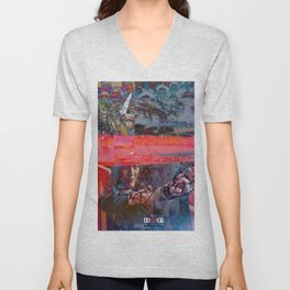 THE BOMBS OF MEMOIRS _MEMORIAL DAY COLLECTION_ Unisex V-Neck