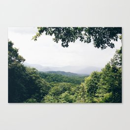The Great Smoky Mountains Gatlinburg Tennessee Canvas Print