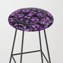 SPANISH LAVENDER AND ONE BEE Bar Stool