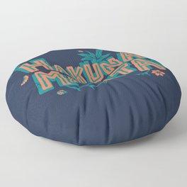 Problem Free Philosophy // 90s Cartoon, Millenial, Classic Song Floor Pillow