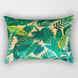 Jungle Leaf Rectangular Pillow