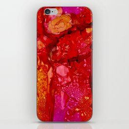 Red Cliff Boulders iPhone Skin