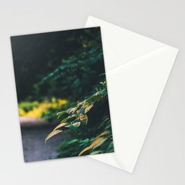 The road up hill Stationery Cards