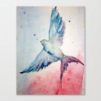 flight Canvas Prints featuring Flight by Megan Hunter