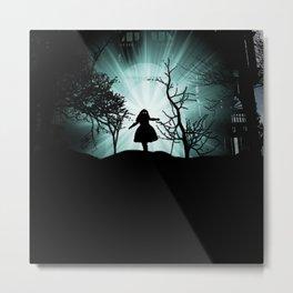GhostGirl Metal Print
