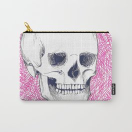 Skeleton in Pink Carry-All Pouch