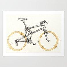 Decaf-Coffee Wheels #00 Art Print