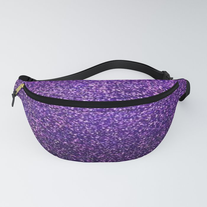 Dark Purple Glitter Fanny Pack