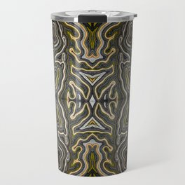 Abstract #1 - VII - Yellow Pop Travel Mug